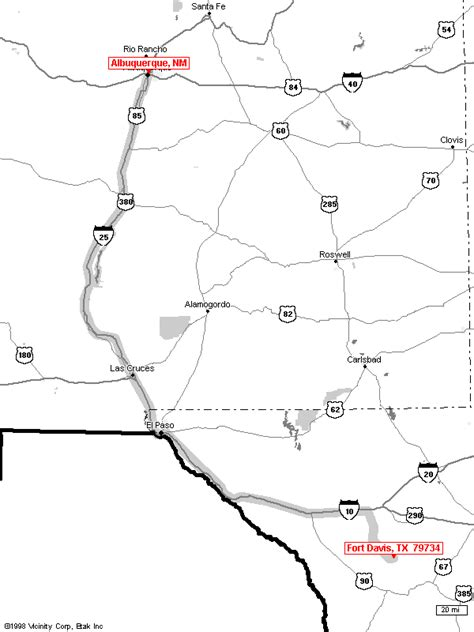 fort davis texas map fort davis maps