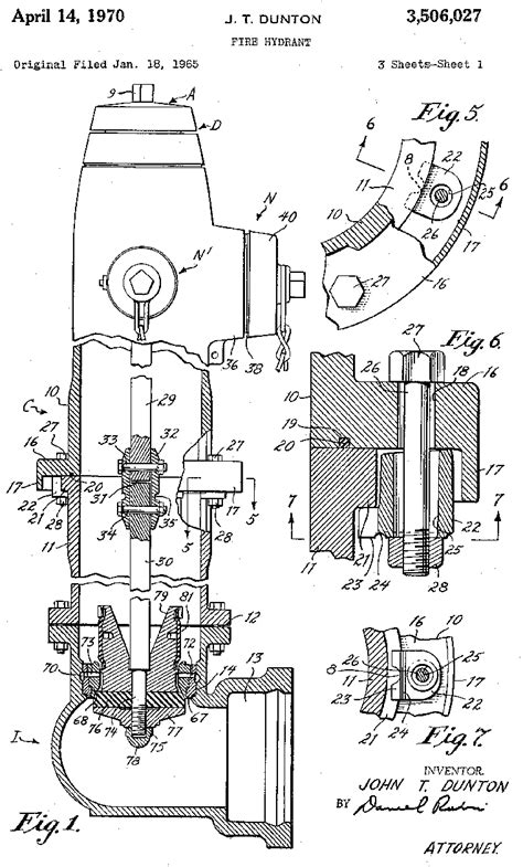 Dresser Industries Bradford Pa by Drawings For U S Patent 3506027 Dunton Dresser