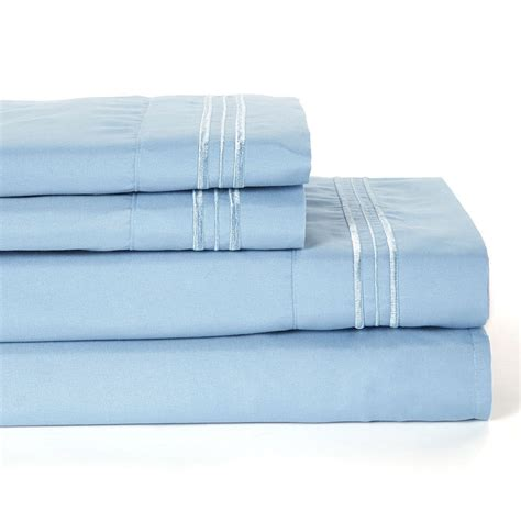 4 piece 1800 count deep pocket bed sheet set queen size