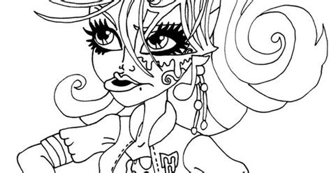 monster high faces coloring pages face of operetta monster high coloring pages monster