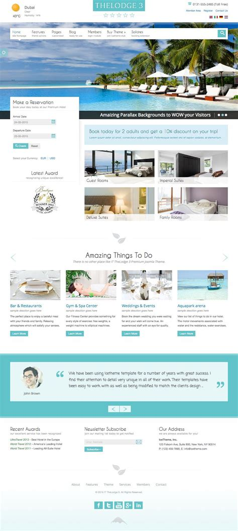 joomla hotel booking template it thelodge 3 joomla hotel rooms booking template