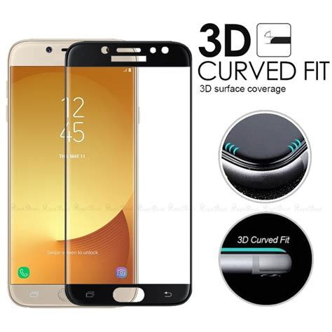 Tempered Glass Color Warna Samsung J5 Pro 3d curved surface tempered glass for samsung galaxy j5 pro 2017 screen protector coverage