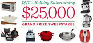 Qvc Giveaway - qvc holiday entertaining giveaway 32 winners prizes include cookware sets vitamix