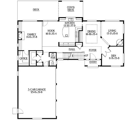 simple floor plan with dimensions simple facade and spacious floor plan 23212jd 2nd