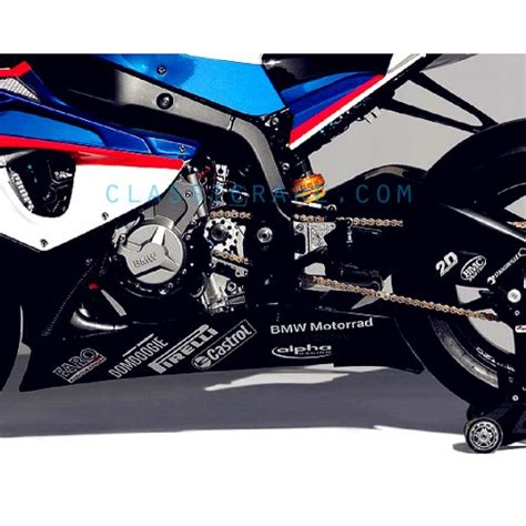 Bmw Motorcycle Stickers Decals by Bmw Motorrad 6inch Decal X 2 Pcs