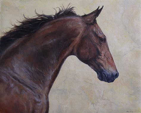 painting horses painting by mewannalearn on deviantart
