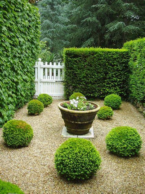 topiary courtyard garden v by wendy uvino