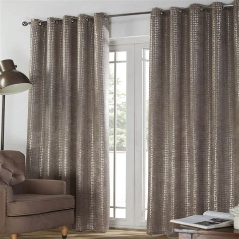 taupe blackout curtains ferne textured taupe blackout eyelet curtains