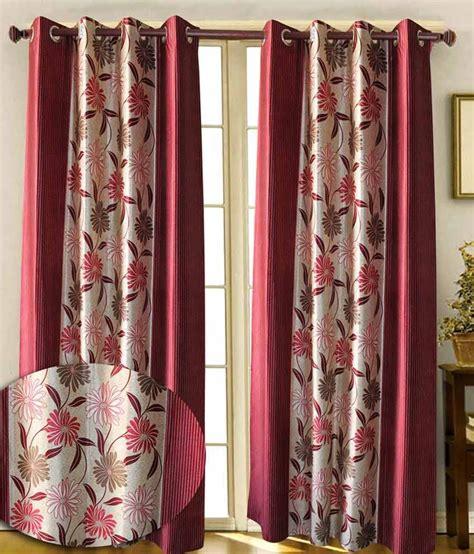 Pink And Beige Curtains Decor Iliv Set Of 2 Window Eyelet Curtains Floral Beige Pink Buy Iliv Set Of 2 Window Eyelet