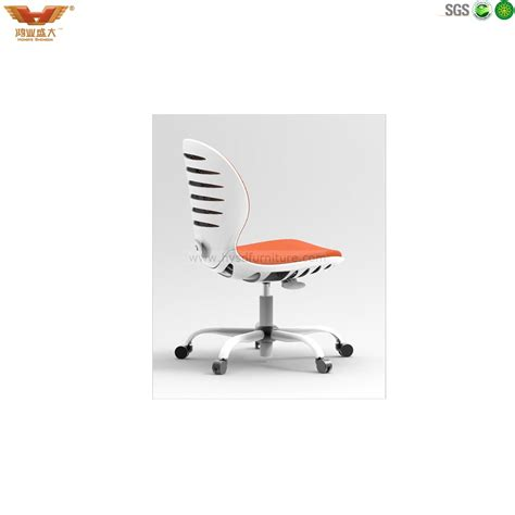Office Chair Without Armrest by Colourful Fabric Computer Chair Without Armrest China