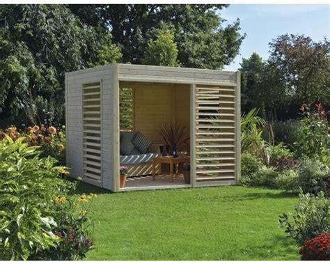 pavillon konsta modern mit fu 223 boden 264x256 cm natur