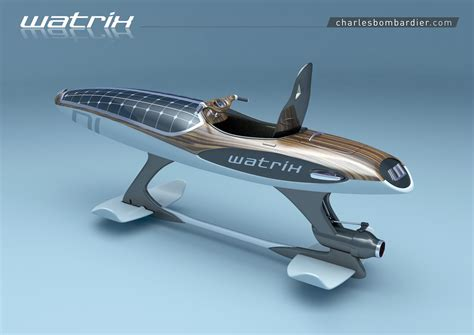 hydrofoil boat meaning charles bombardier releases new watrix concept pro rider