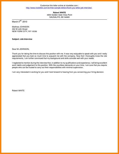 Resume Letter Exles thank you letter exles after 28 images thank you