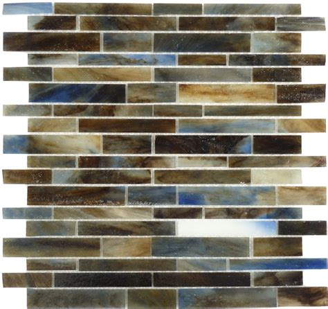 brown backsplash tile js0124 brown blue glass tile outlet center