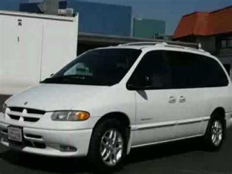 how make cars 1998 dodge grand caravan security system 1998 dodge grand caravan sport van youtube