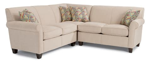 Corner Sectional Sofas by Flexsteel Three Corner Sectional Sofa Dunk
