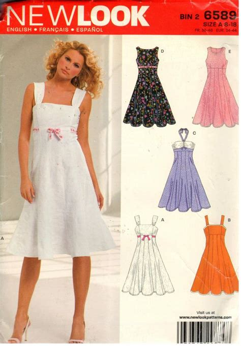 pinterest pattern sewing new look 6589 sewing pattern copyright 2006 by