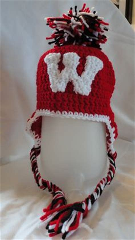 badger pattern works new berlin wi 1000 images about crocheted hats on pinterest wisconsin