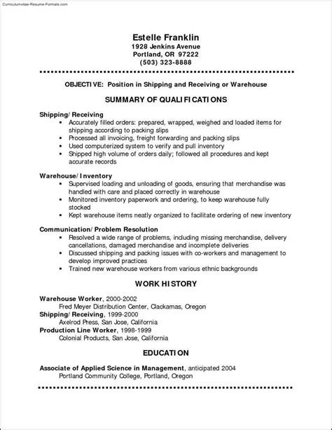 absolutely free resume templates free sles exles