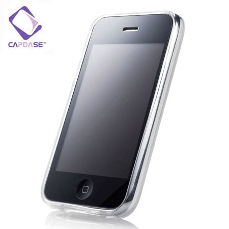 capdase soft jacket 2 xpose iphone 3gs 3g white