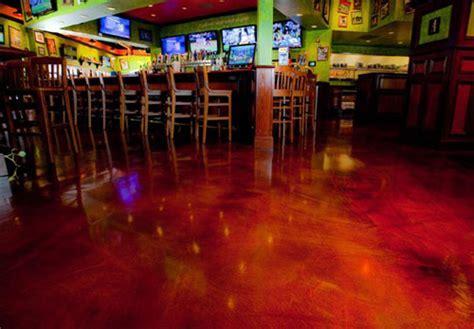 Tilted Kilt Pub & Eatery Gets the Decorative Concrete