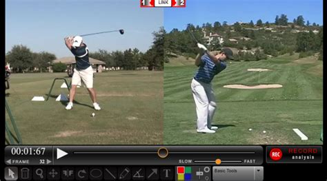 golf swing analysis software free free golf swing analyzer software rotaryswing