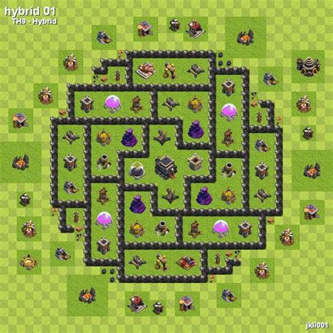 layout design th7 th7 base layout google search clash of clans pinterest