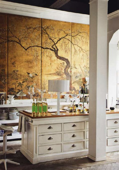 Kitchen Screen by Chinoiserie Chic Decorating With Antiques New