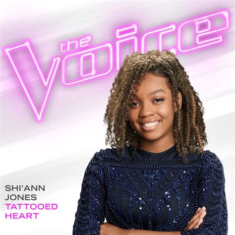 tattooed heart the voice shi ann jones tattooed heart the voice performance