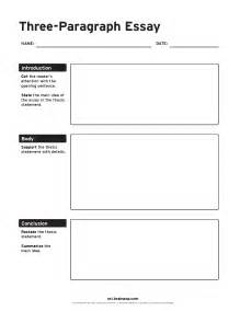 Essay Organizer Template by Three Paragraph Essay Graphic Organizer Brainpop Educators