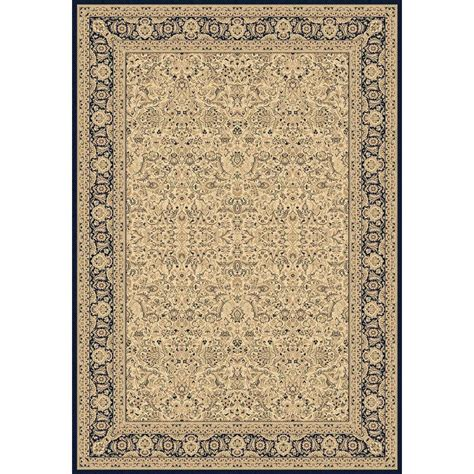 area rugs 7 x 9 dynamic rugs legacy ivory 6 ft 7 in x 9 ft 6 in indoor area rug le71058004115 the home depot