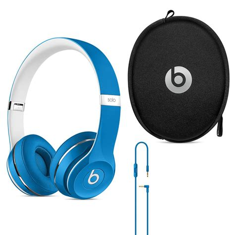 Headphone Beats Kw beats 2 on ear wired headphone luxe edition blue 1 year warranty a store