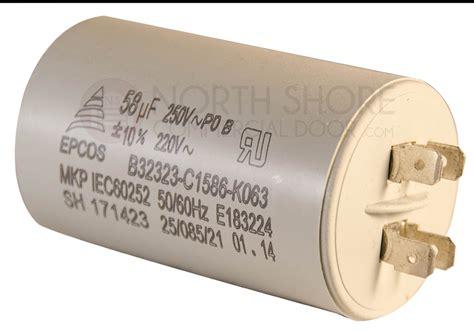 linear 219110 1 2hp capacitor northshorecommercialdoor
