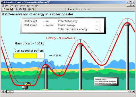 diagram of energy conservation interactive physics workbook chapter 8