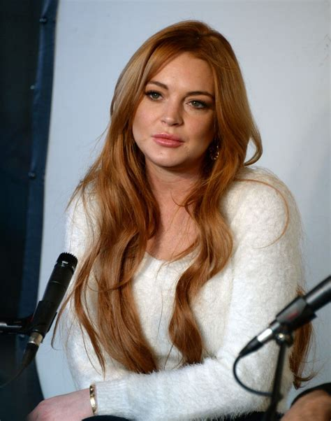 Pics Of Lindsay Lohan In Utah by Lindsay Lohan Press Conference In Park City January 2014