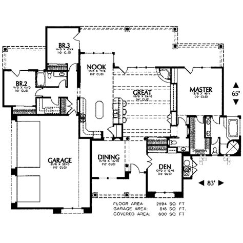 adobe style home plans adobe southwestern style house plan 3 beds 2 5 baths
