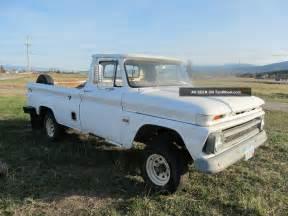 Chevrolet Truck 4x4 1966 Chevy Truck 4x4