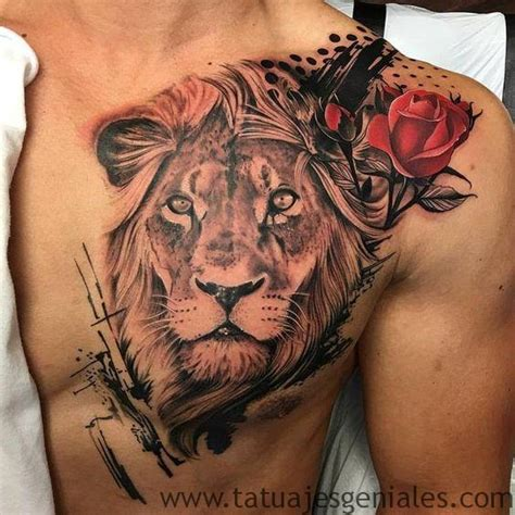 imagenes leones llorando 63 geniales tatuajes de leones y sus significados