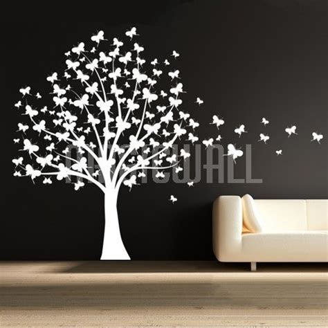 wall stickers butterfly butterfly tree wall decal b wall decal