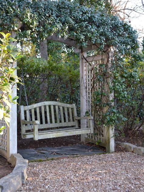 backyard swing best 25 garden swings ideas on garden swing