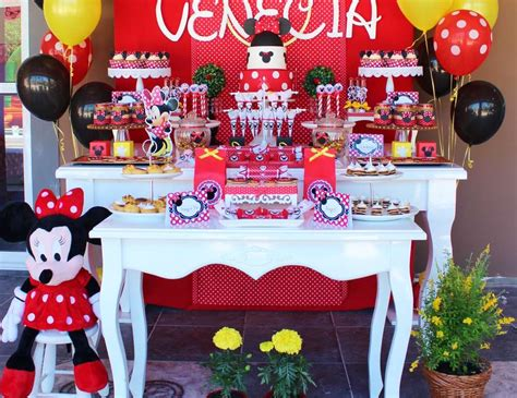 minnie mouse backyard party minnie mouse birthday quot magical minnie mouse in red