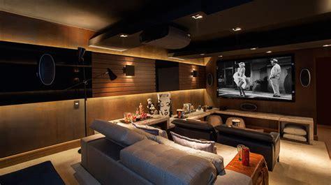 Home Cinema Moderno by Como Montar Um Cinema Em Casa Bbel