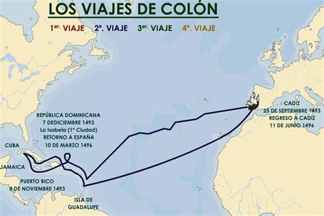 rutas de los barcos de cristobal colon los viajes de col 243 n ciencias sociales