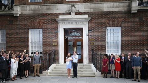 kensington palace william and kate royal baby kate middleton prince william and son leave