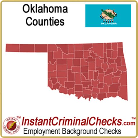 Background Check In Oklahoma Oklahoma County Criminal Background Checks Ok Court