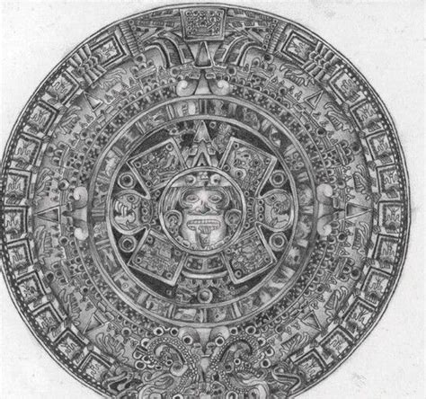 Calendario Azteca Calendario Azteca Idea S