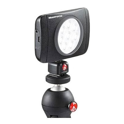 Manfrotto Lumimuse Mount manfrotto lumimuse 8 on led light black