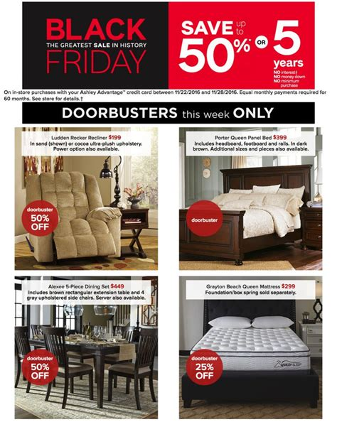 black friday couch deals ashley furniture homestore black friday 2017 ad funtober