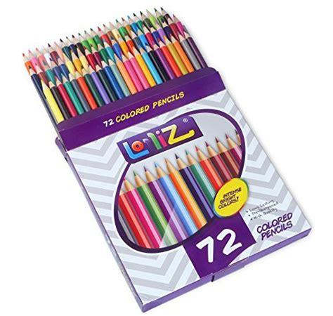 72 colored pencils lolliz 72 colored pencils set with 72 unique color