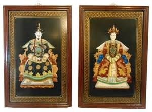 Wall panels by oriental furnishings set of two asian wall decor